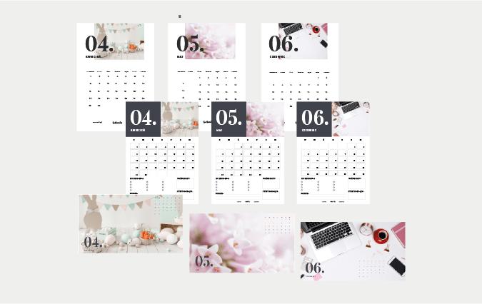 Darmowe tapety, kalendarze i plannery na kwiecień, maj i czerwiec!
